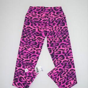 e81e8e1607ead1 Tikiboo Pants   Neon Pink Animal Print Leggings   Poshmark